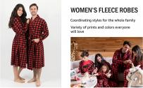 Leveret Women's Robe Soft Micro Fleece