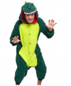 Silver Lilly Unisex Adult Pajamas – Plush One Piece Cosplay Dinosaur