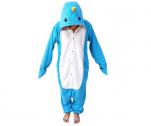 WOTOGOLD Animal Cosplay Costume Narwhal Unisex Adult Pajamas